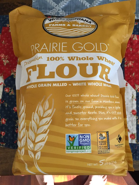 Prairie Gold - 100% White Whole Wheat flour