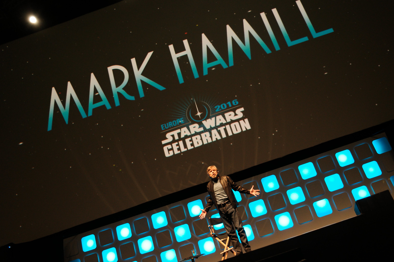Mark Hamill - Star Wars Celebration London 2016