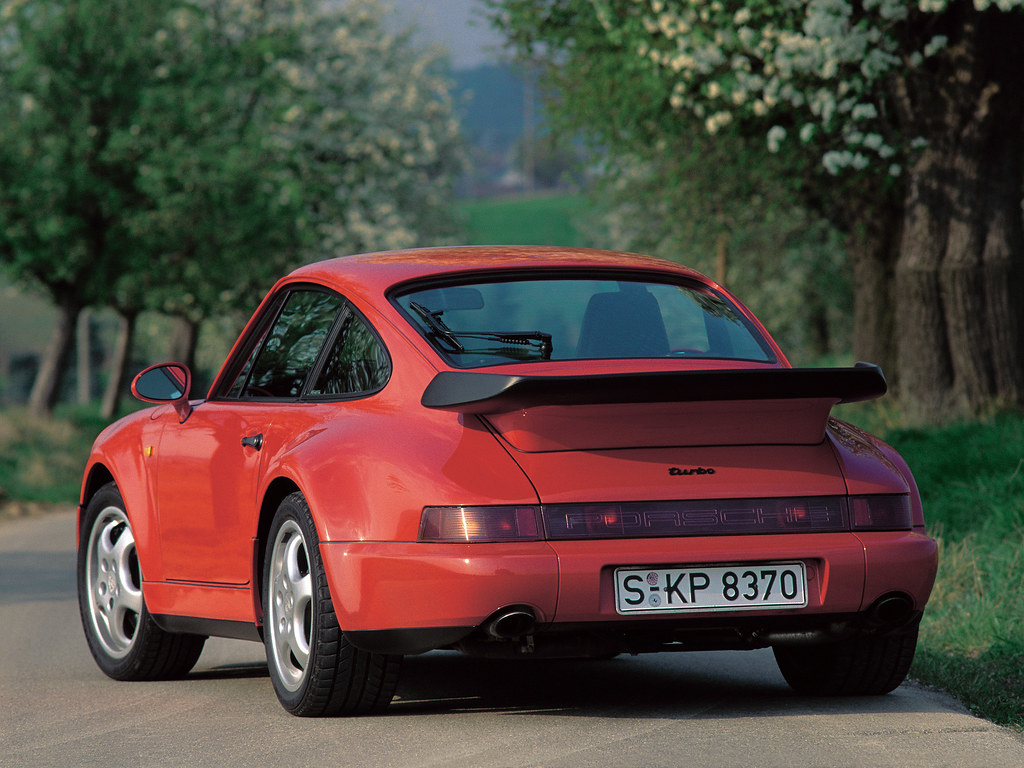Porsche 911 Turbo 3.3 Coupe (кузов 964). 1990 – 1992 годы