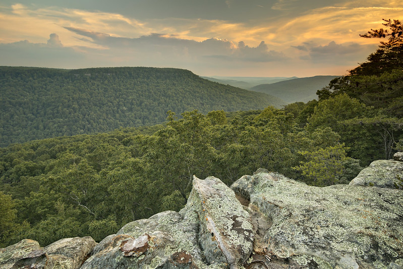 Eagles Landing overlook, Putnam County, Tennessee 1