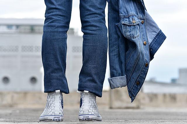 Resize Uniqlo Batik Motif Duane Bacon Mens Wear Blogger Denim Jeans Blue Cheapmondays Forever 21 Men