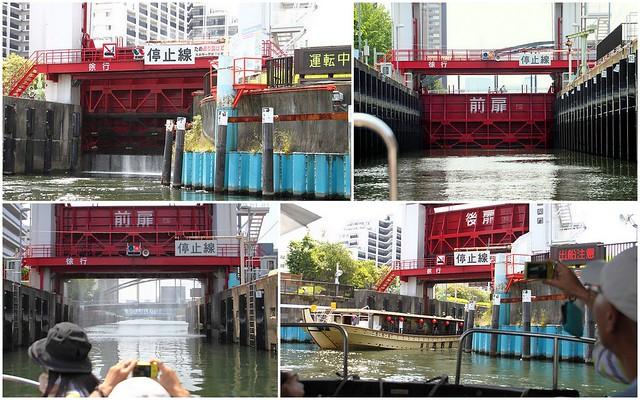 扇橋閘門 @ 下町のパナマ運河体験クルーズ