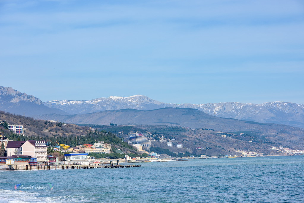Crimean coast in February