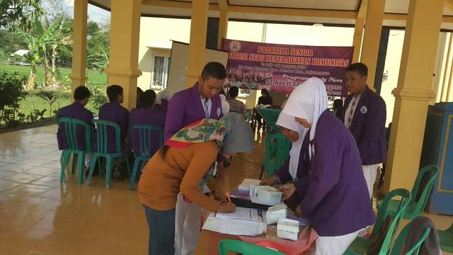 Penutupan Praktika Senior di Desa Ngunut