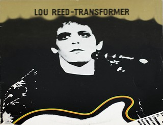 "LOU REED TRANSFORMER ITALY LSP-4807 12"" LP VINYL"