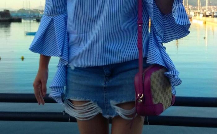 mini falda pull&bear