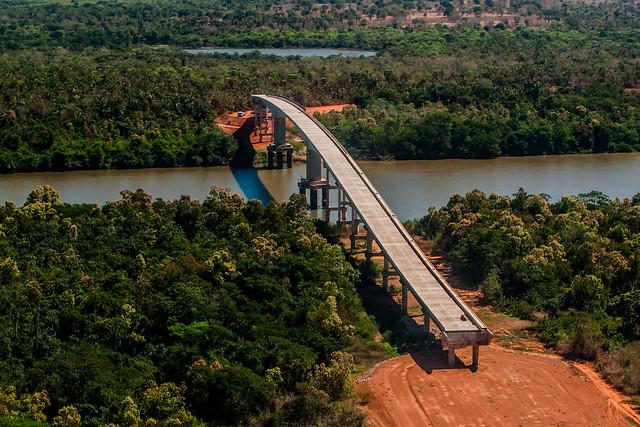Baiano Filho articula retomada das obras de acesso entre MT e Goiás