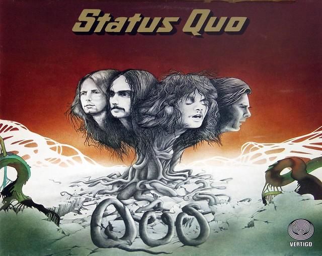 """Status Quo QUO 12"""" vinyl LP"""