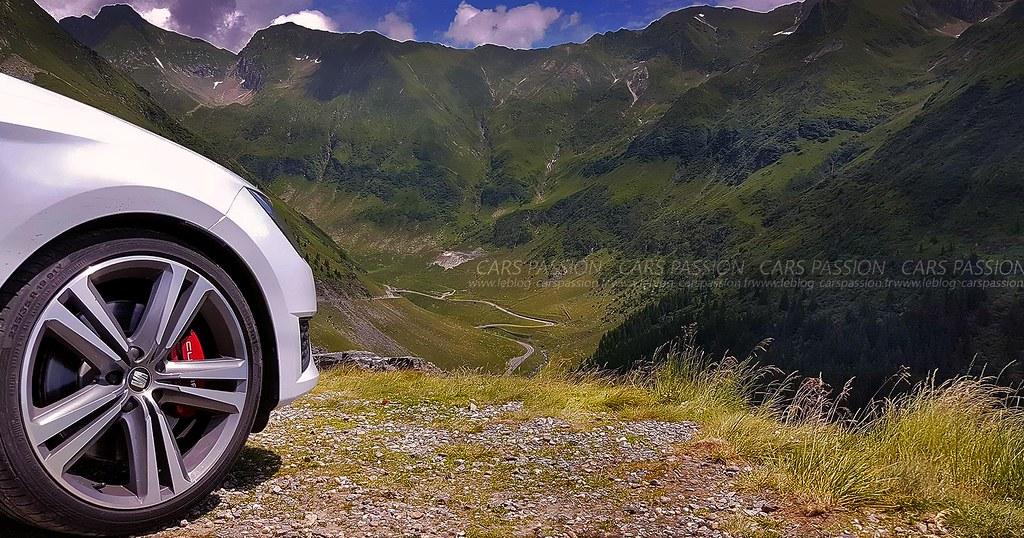 Road trip Seat Cupra 290 - Transfagarasan en Roumanie