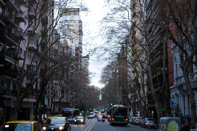 Winter in Buenos Aires, Recoleta Neighborhood