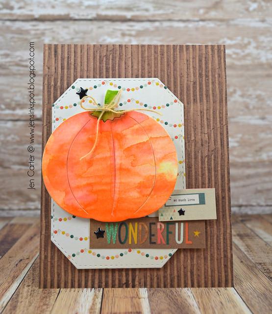Jen Carter Corner Lg Pumpkin 1
