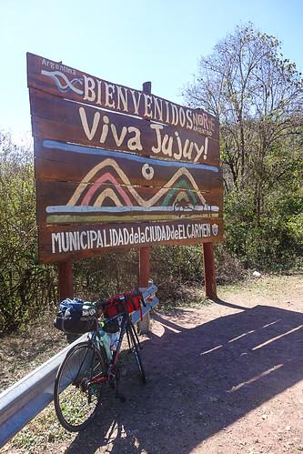 Ruta de Salta a Jujuy