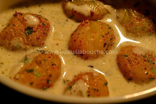 Noix de St Jacques  Gratinées Parfumées au Curry © Ana Luthi Tous droits réservés 15