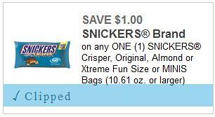 Snickers Crisper Fun Size