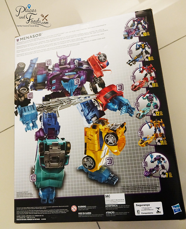 TRANSFORMERS Combiner Wars Menasor back