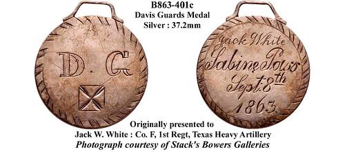 Davis Guards medal