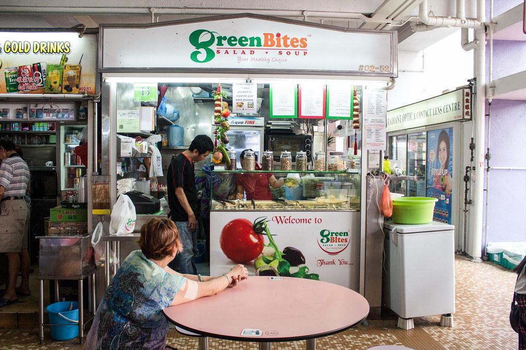 花式小贩食品:绿色食物