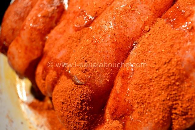 Poulet Pané au Tandoori Condiment Poivrons Grillés © Ana Luthi Tous droits réservés 003