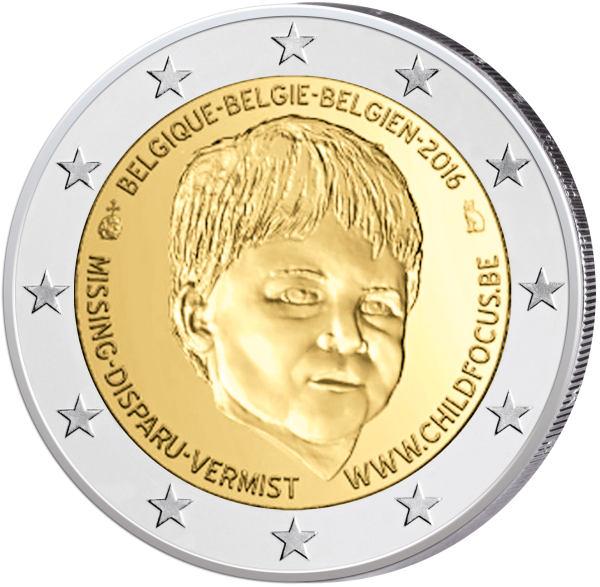 2 Euro Belgicko 2016, Child Focus