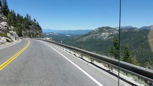 US 50 Approaching Lake Tahoe