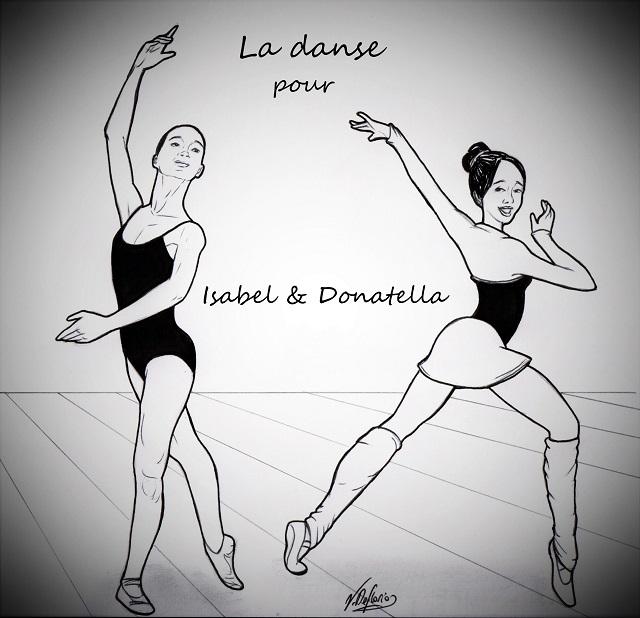 Noicattaro. Vignetta ballerine intero