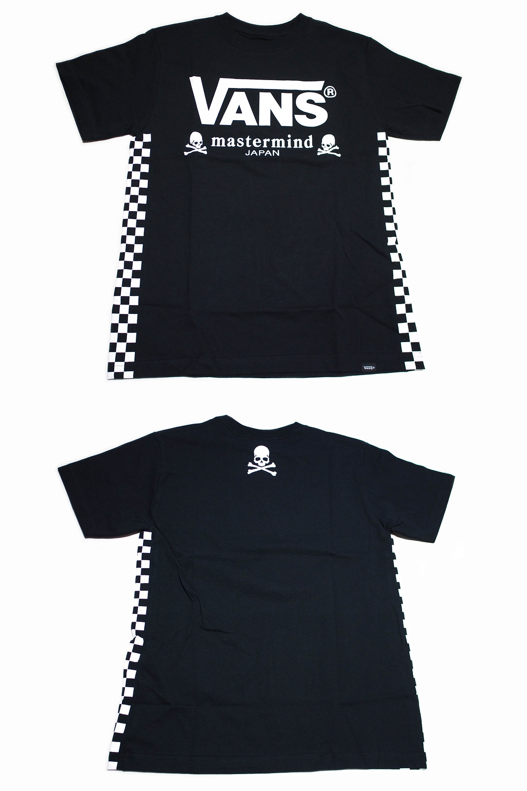 VANS × mastermind JAPAN | SIDE CHECKER S/S T-Shirts