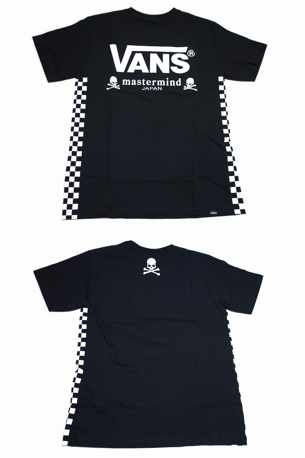 VANS × mastermind JAPAN | SIDE CHECKER S/S T-Shirts