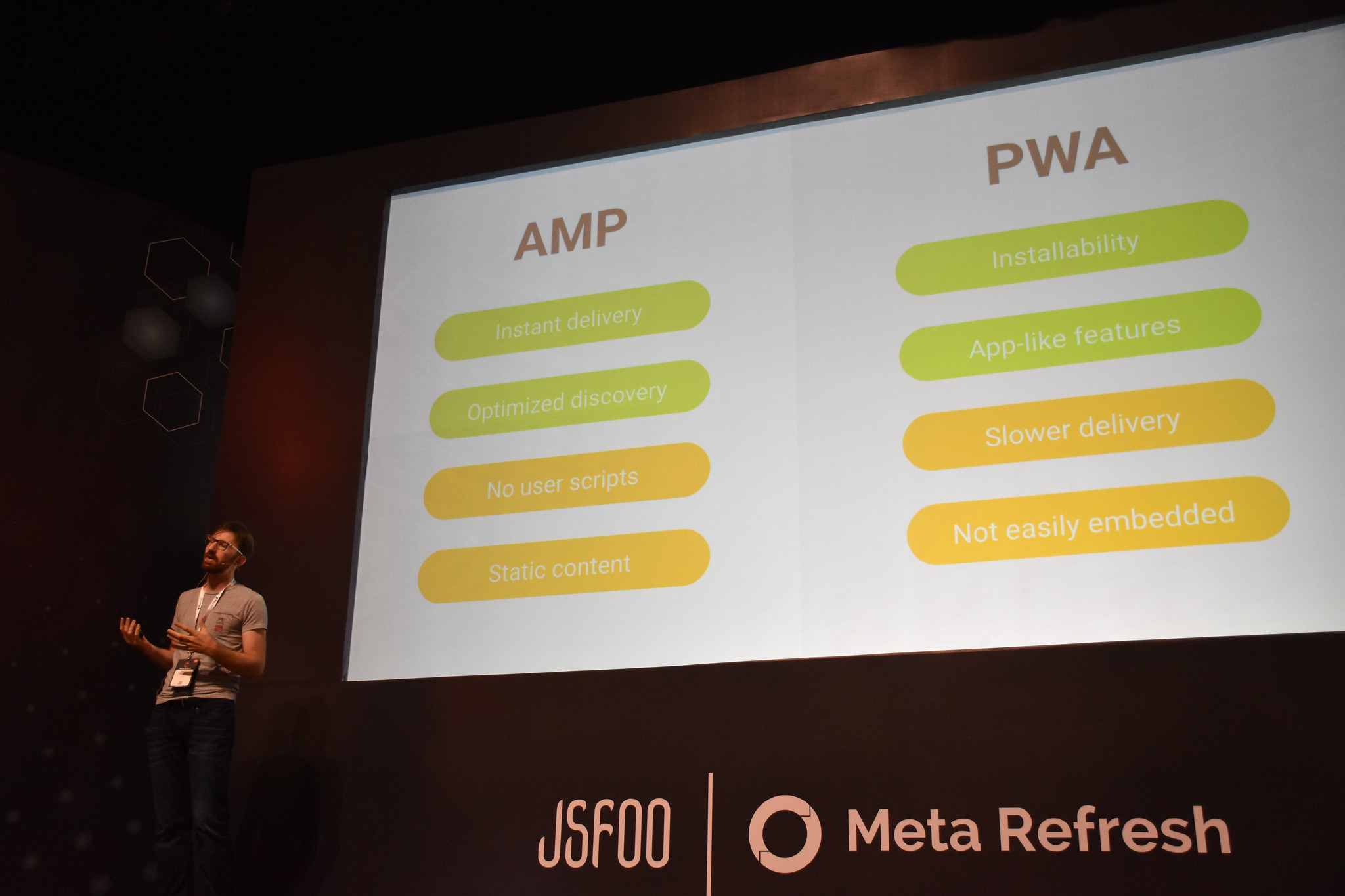 A modern mobile web journey: from AMP to PWA